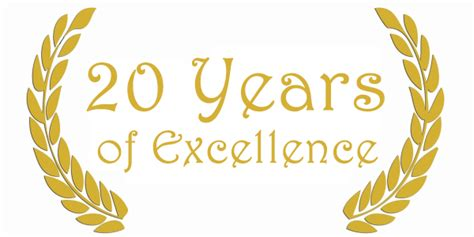 20 Years Of Excellence!