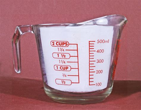 1 cup to ml mineral oil