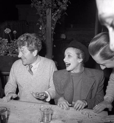 jean gabin hollywood marlene dietrich and jean gabin new york 1942 marlene