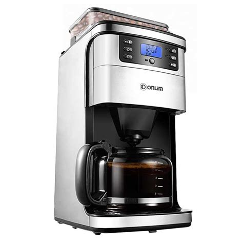 The best coffee maker with grinder will see you enjoy freshly brewed coffee in next to no time! Coffee Machine Espresso Machine Coffee Machine Household Automatic Ground Soybean Powder ...