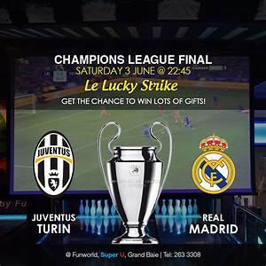Champions League Final: Juventus vs Real Madrid - Fun World