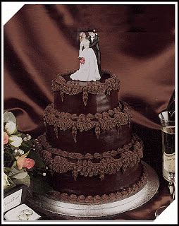 funny pictures wedding cakes chocolate silver