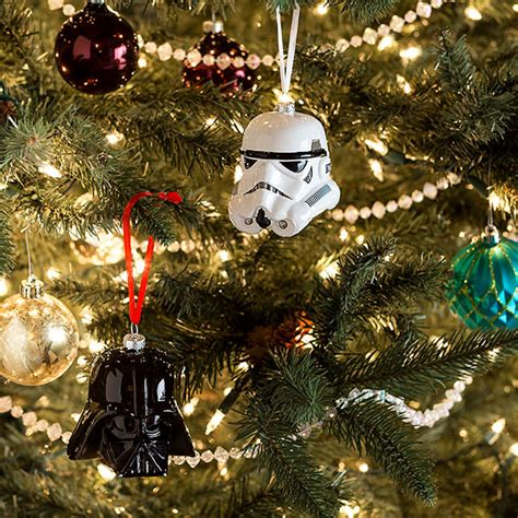 hallmark star wars special edition blown glass ornaments