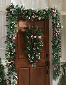 Weihnachtliche Deko Ideen : sch ne ideen f r weihnachtliche deko vor der haust r ~ Markanthonyermac.com Haus und Dekorationen