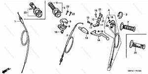 Honda Motorcycle 2002 Oem Parts Diagram For Switch    Cable