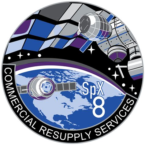 Beam Mission patch from Bigelow. : spacex