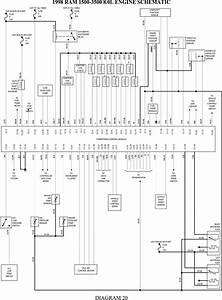 1997 Dodge Ram 1500 Alternator Wiring Diagram