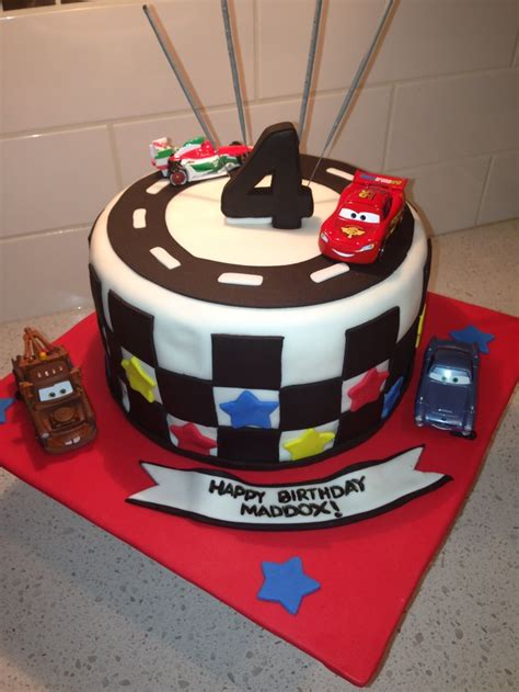 Car Design Birthday Cake