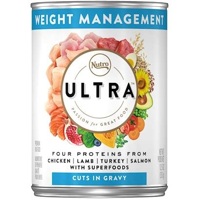 nutro ultra weight management canned dog food dog wet food