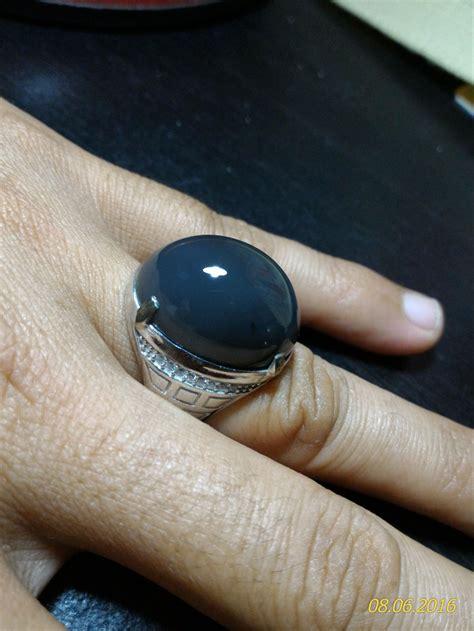 jual black grayish cahlcedony langka mumbul bukan bacan ruby blue safir safir kecubung