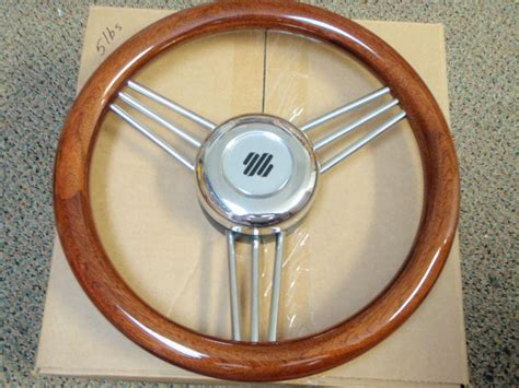 Boat Steering Wheel Location by Find Boat Steering Wheel Mahogany Non Magnetic Stainless