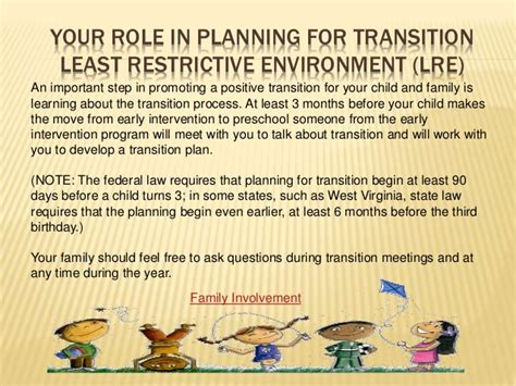 transition from early intervention to preschool early childhood transitions 106