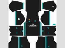 Dream League Soccer Real Madrid Logo & Kits URLs Download