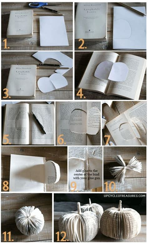 Books For Decor - 40 delicate book project ideas worth considering