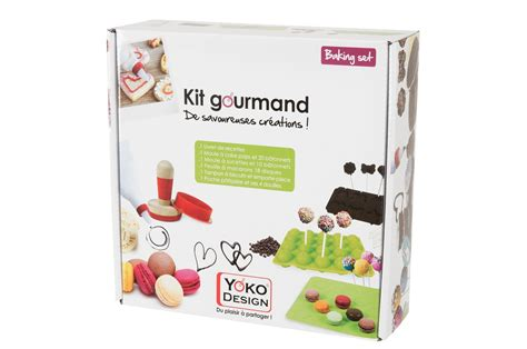 cuisine kit coffret cuisine yoko design kit gourmand 4038380 darty