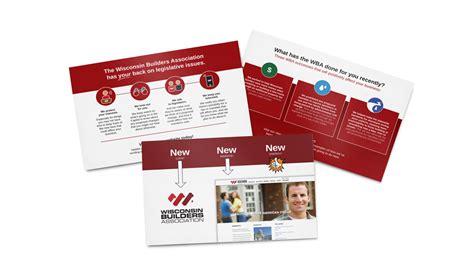wisconsin builders association direct mailers  pop dot