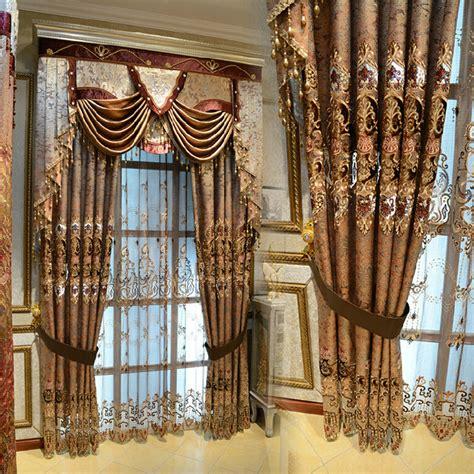 european luxury brand of high end curtain fabric living