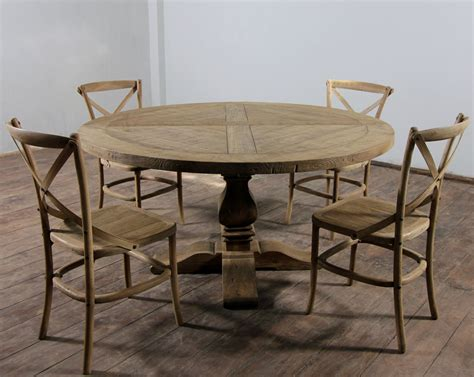 round dining table ideas round distressed dining table classic and modern designs