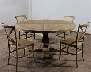 Round Distressed Dining Table Classic And Modern Designs
