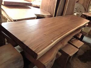 Table En Acacia : acacia table 350 cm bali wood slab ~ Teatrodelosmanantiales.com Idées de Décoration