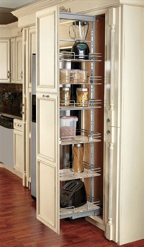 compagnucci pantry units pull  soft close chrome