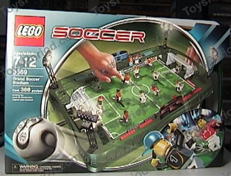 lego  grand soccer stadium set parts inventory