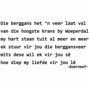Boerneef - Die ... Mooiste Engelse Quotes