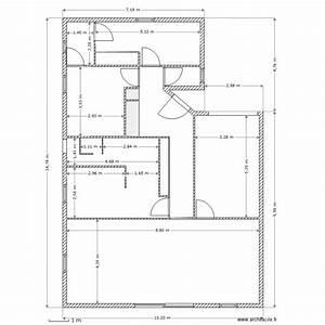 plan maison 02 avec cotations plan 11 pieces 109 m2 With plan maison avec cotation