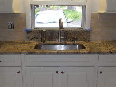 kitchen window backsplash undermount kitchen sink granite window sill limestone