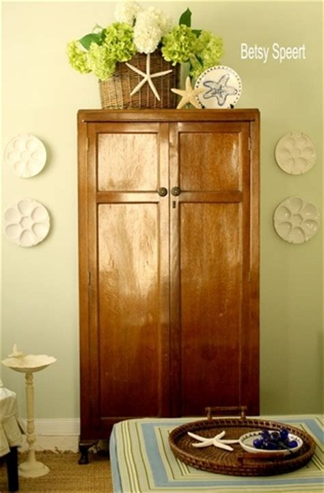 Decorating Ideas Top Of Armoire by Top Of Armoire Decorating It Started With Living Rooms