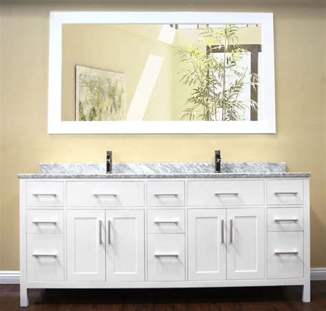 bathroom exciting   vanity double sink  modern