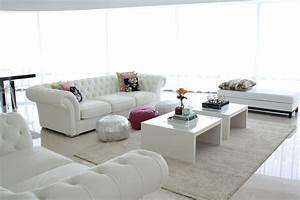 Www Sofa Com : sof branco 60 inspira es e fotos de decora o ~ Michelbontemps.com Haus und Dekorationen