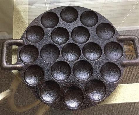 iron cast dutch pan poffertjes cookware pancake leeuwarden koopmans