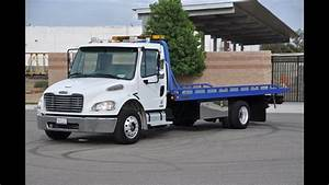 Freightliner M2 Century Rollback Flat Bed 2 Car Tow Truck With Wheel Lift Overview Blog