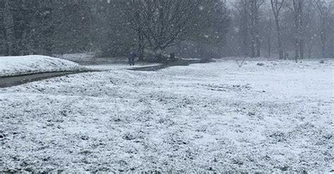 cuaca kent gambar menunjukkan hujan salju  kent  kemudahan penguncian pagi hari