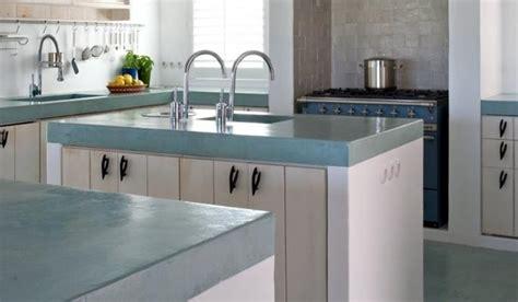 beton cire sur carrelage cuisine cuisine en b 233 ton cir 233 le choix de l originalit 233