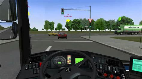 de retour video commenter sur omsi simulation de busavec le volant creex youtube