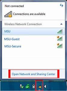 Configuring MSU-Secure on Windows 7 - MSU Wireless Network ...