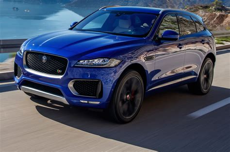 The 2017 Jaguar F-pace Is The Automaker's First Suv, But