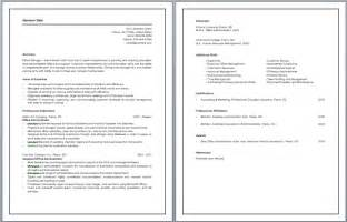 office administrator resume office administrator resume sles recentresumes