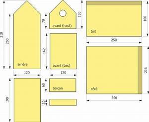 Plan Nichoir Oiseaux : plan maison oiseau ~ Melissatoandfro.com Idées de Décoration