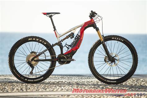 mtb e bike ducati plugs into electric mountain bikes motorbike writer