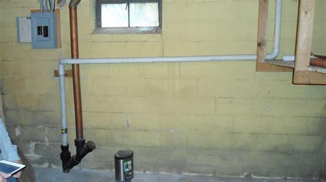 Cracks In Basement Wall Foundation Window Drain Leak