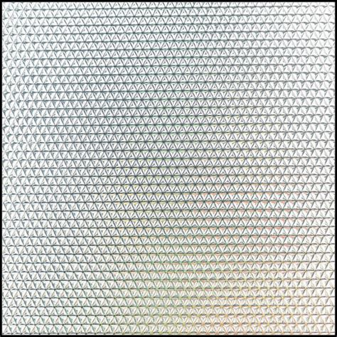 prismatic ps diffuser sheet for fluorescent light