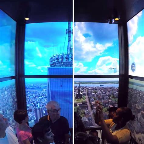 kind elevator ride  world observatory