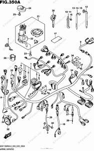 Suzuki Motorcycle 2016 Oem Parts Diagram For Wiring Harness  Gsx1300ral6 E03