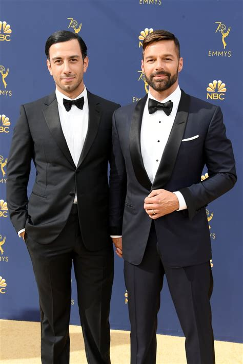Jwan Yosef and Ricky Martin   Celebrity Couples at the ...