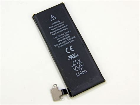 battery for iphone 5 iphone 5 teardown ifixit
