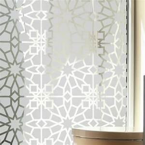 Stickers Pour Vitre : sticker occultant pour vitre et fen tre motif oriental ~ Melissatoandfro.com Idées de Décoration