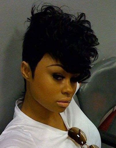 short hair inspired mohawk stayglam hairstyles mohawk